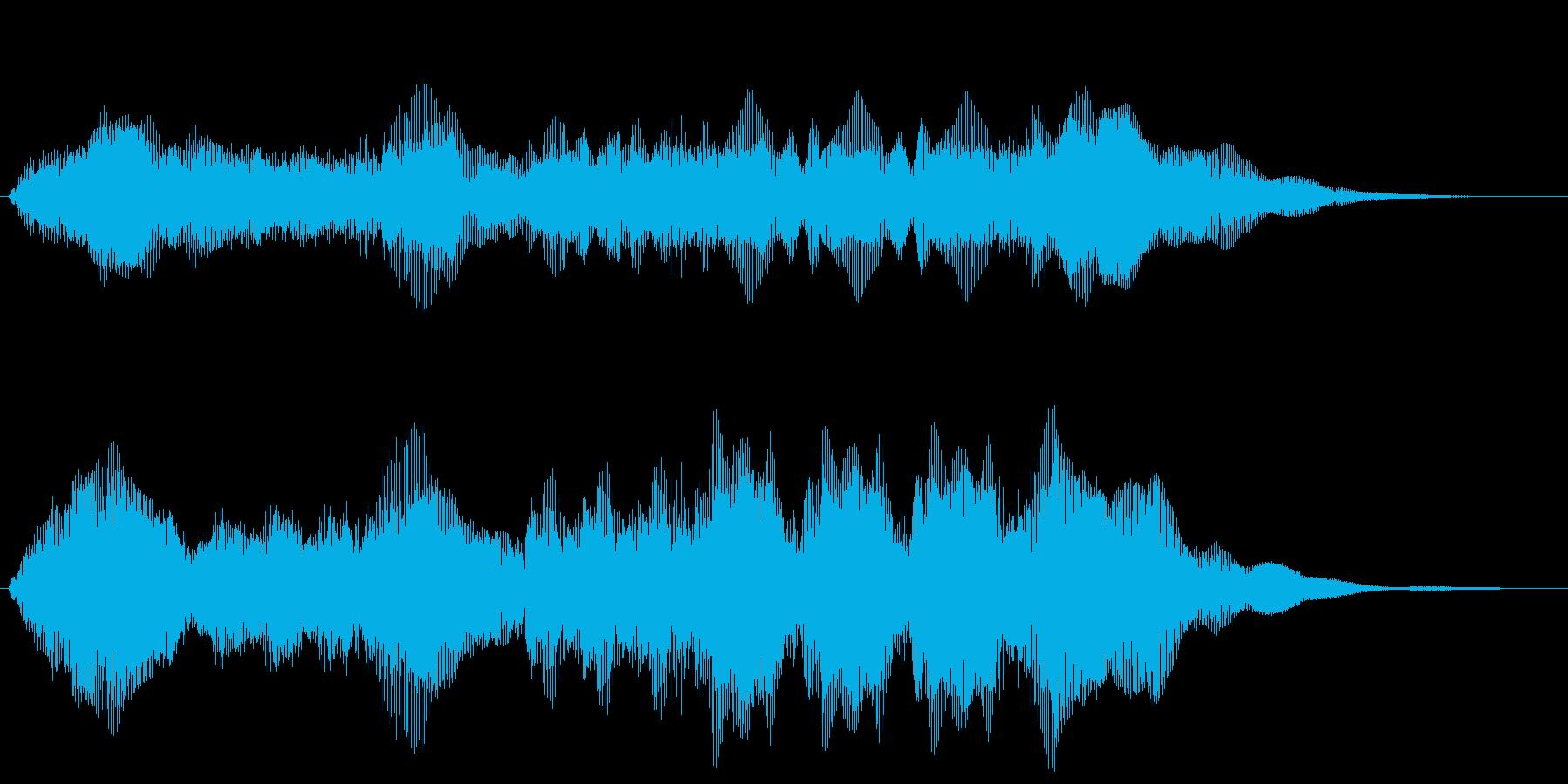 栄光 勝利のファンファーレ シンプル版の再生済みの波形