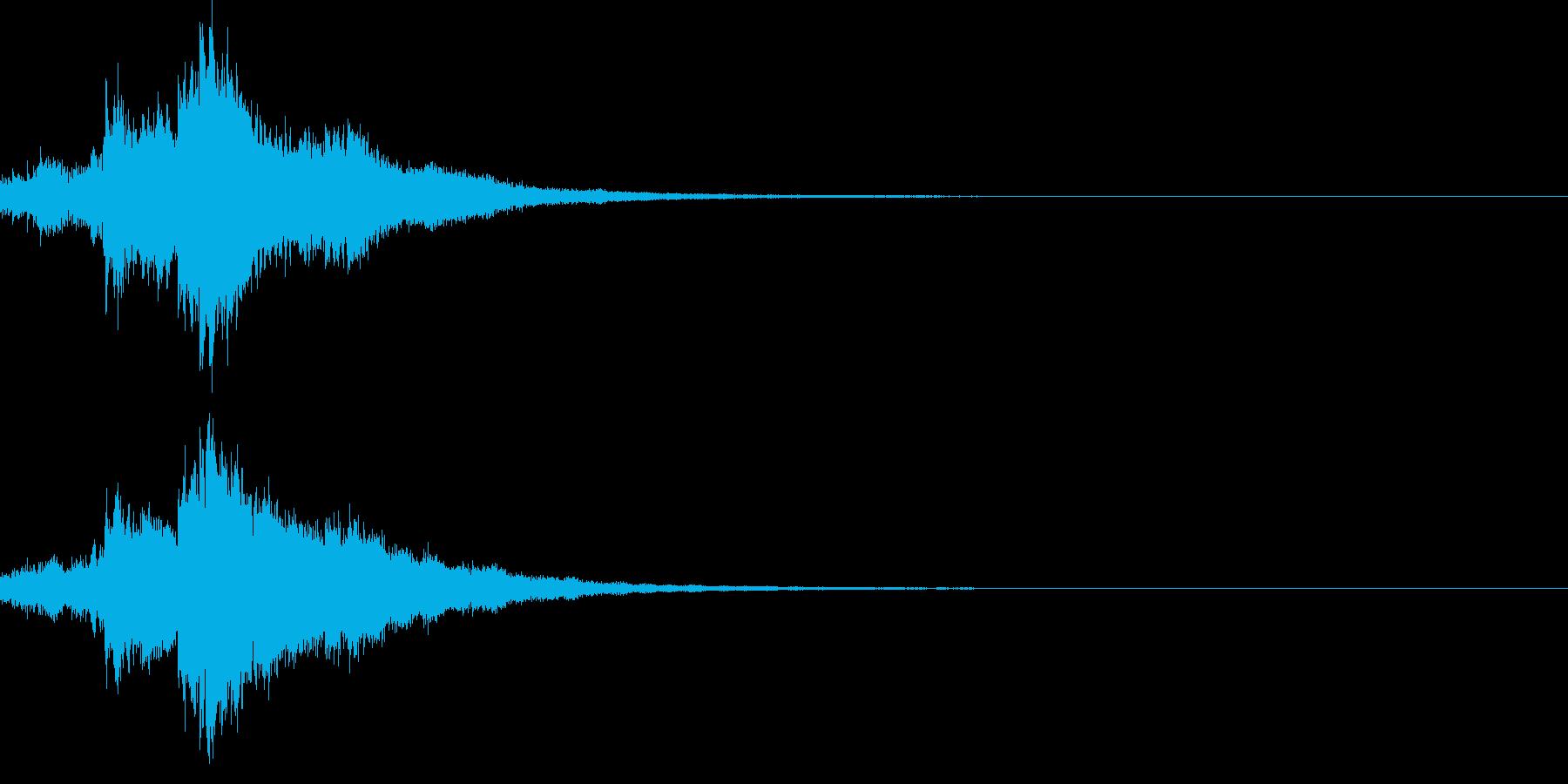 キラキラ♪クリア,達成,回復等に最適26の再生済みの波形