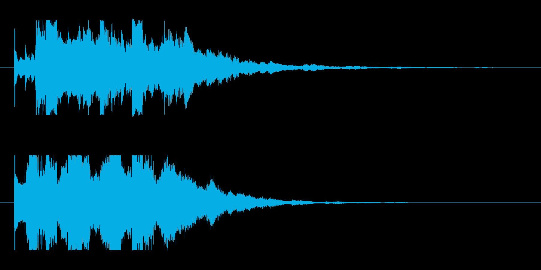 不穏な発見1の再生済みの波形