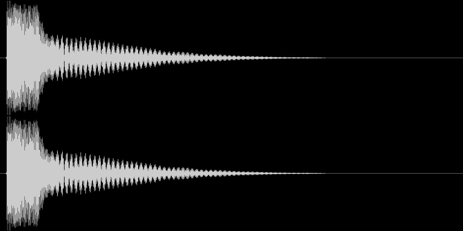チィーン(金属、宝石)の未再生の波形