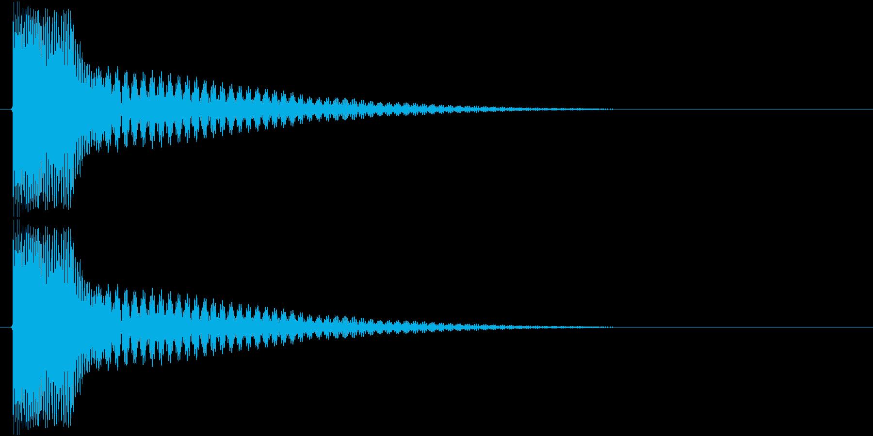 チィーン(金属、宝石)の再生済みの波形