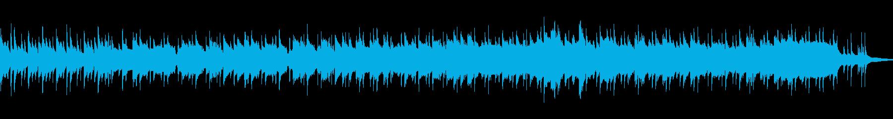 ウクレレとクラリネットのゆっくりな癒し曲の再生済みの波形