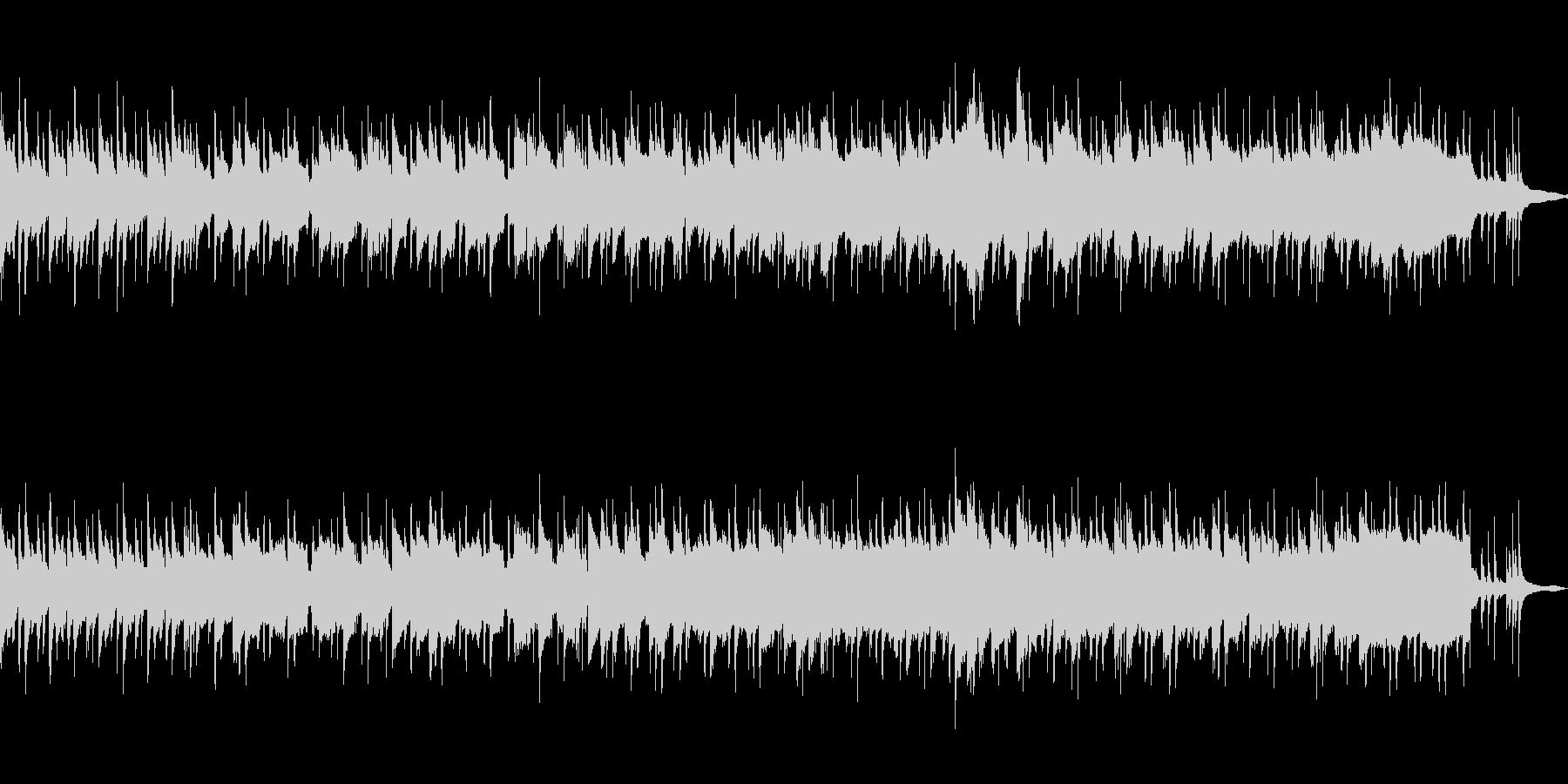 ウクレレとクラリネットのゆっくりな癒し曲の未再生の波形