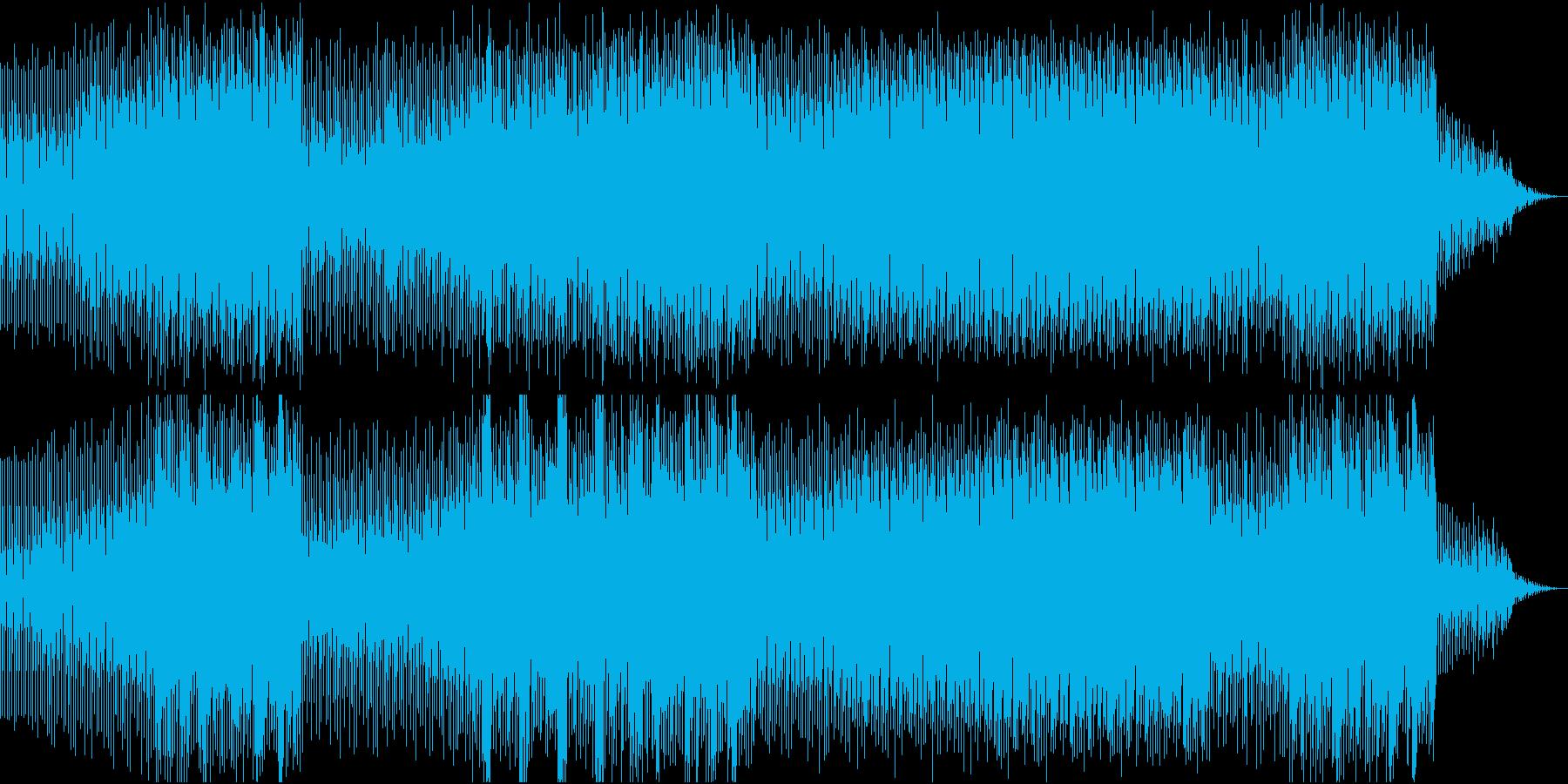 チャイナアレンジによるEDMの再生済みの波形