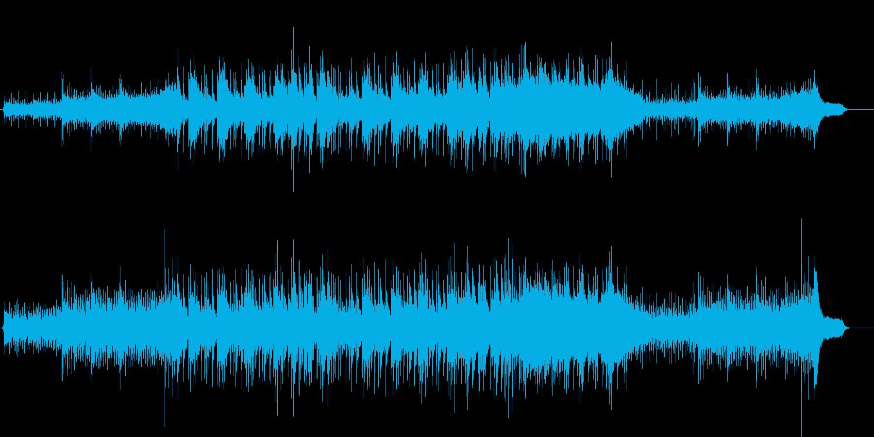幻想的なイメージのミディアム・バラードの再生済みの波形