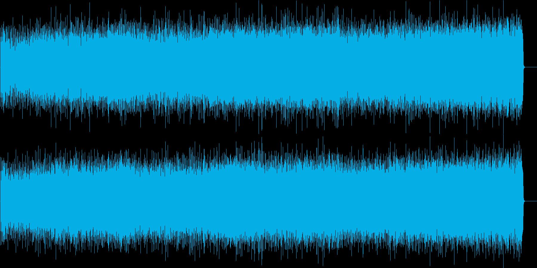 パワフルでストレートなロック/ハードの再生済みの波形