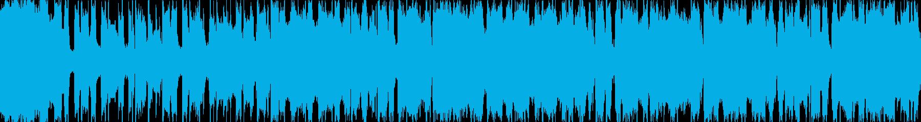 8bitピコピコ(サビ)の再生済みの波形