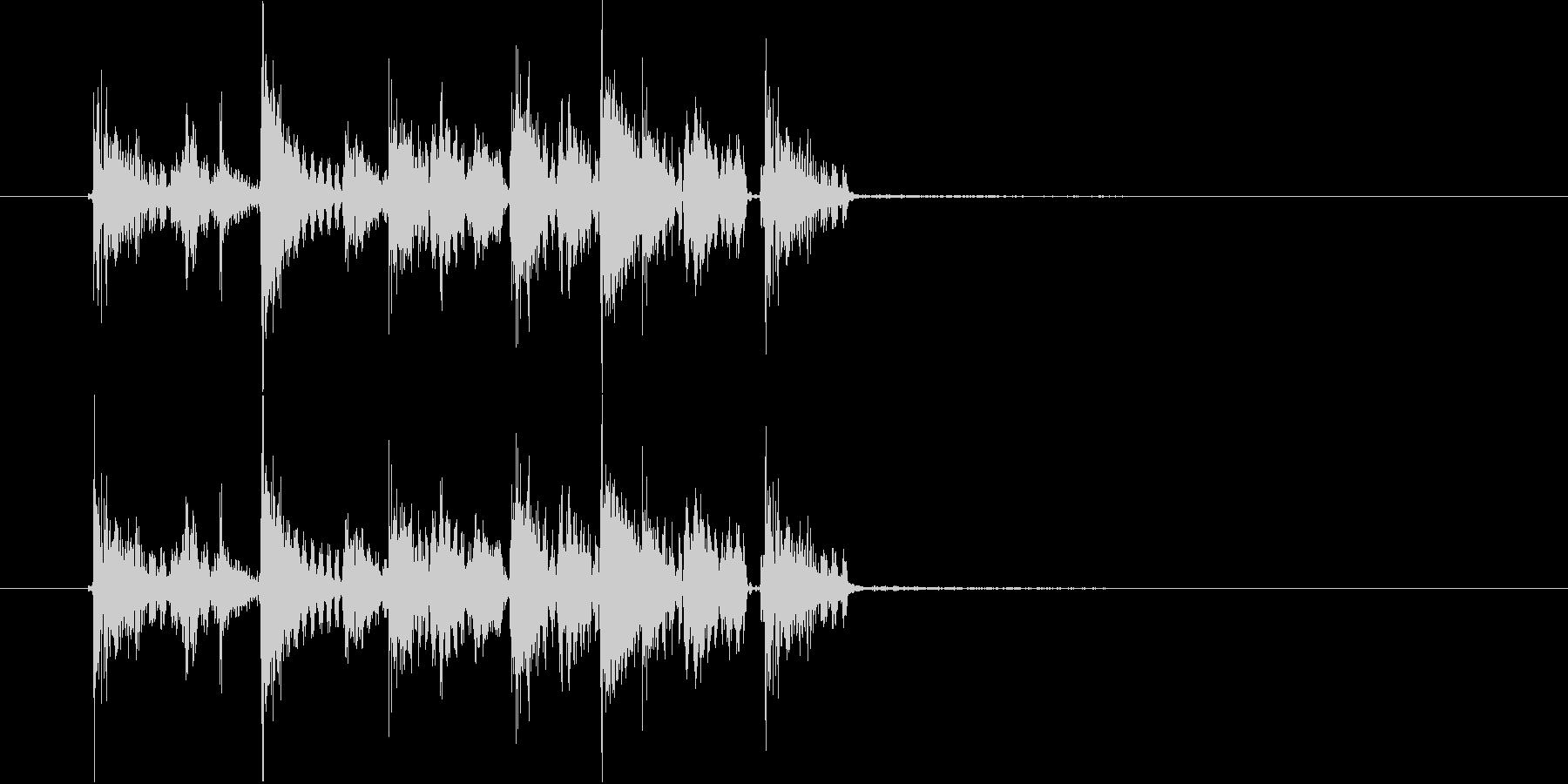 ズンズカズンズカピリリリ(ゲーム音)の未再生の波形