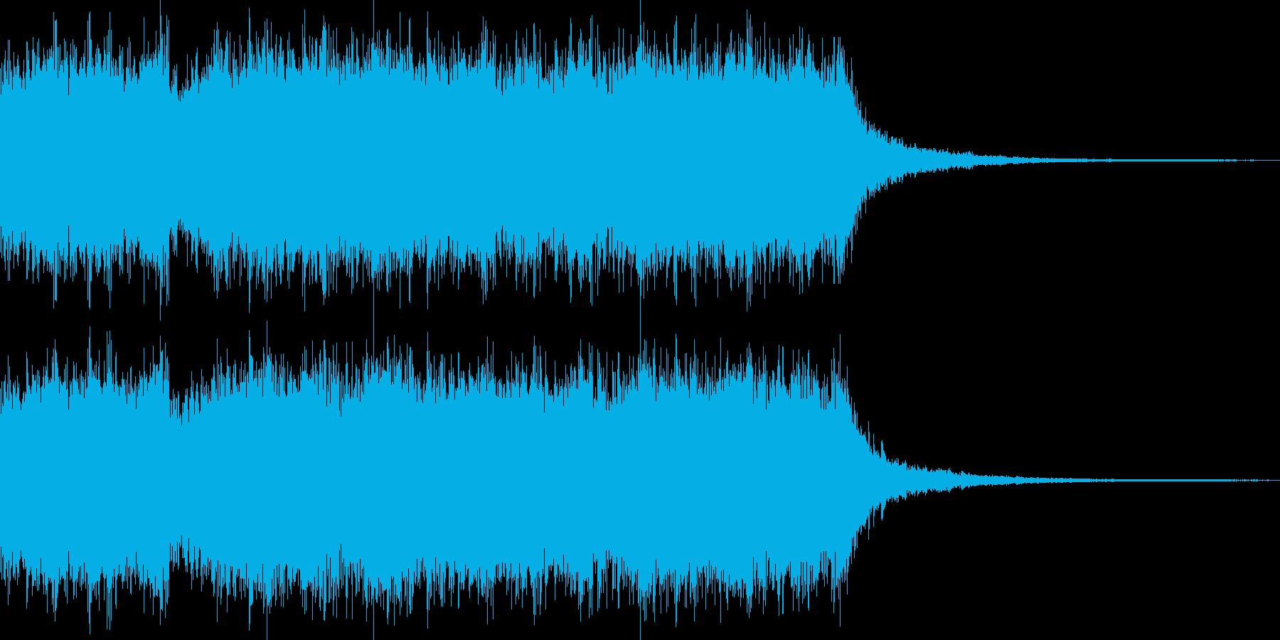 ジングル ゲームオーバー風 その1の再生済みの波形