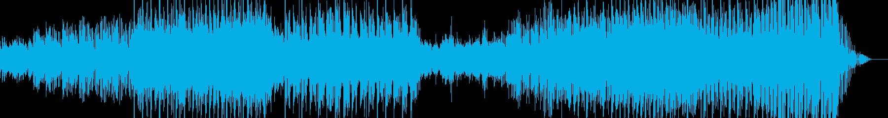 ラウンジ系音楽ー雨傘の再生済みの波形