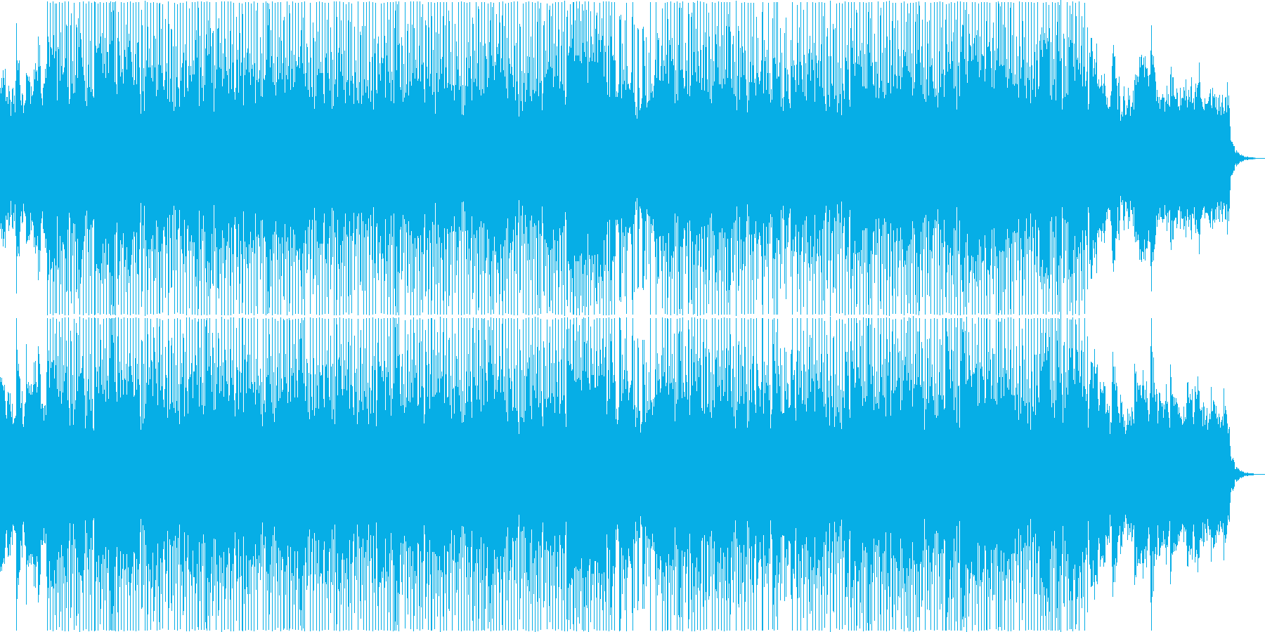 ハードボイルドノベルゲームなどの再生済みの波形