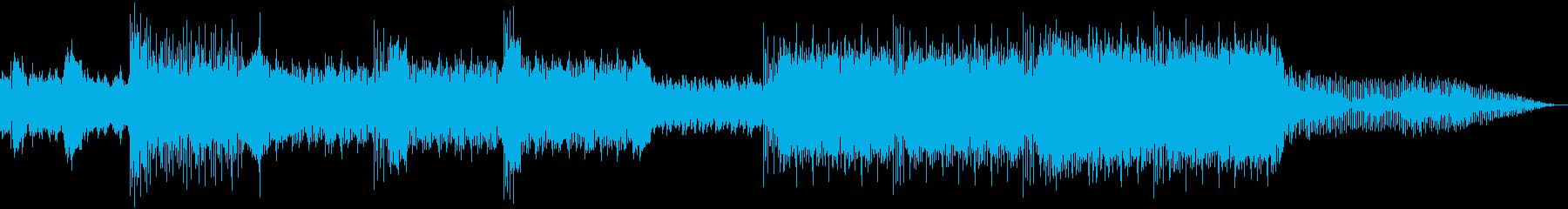 レースゲーム向きテンポの速いDnBの再生済みの波形