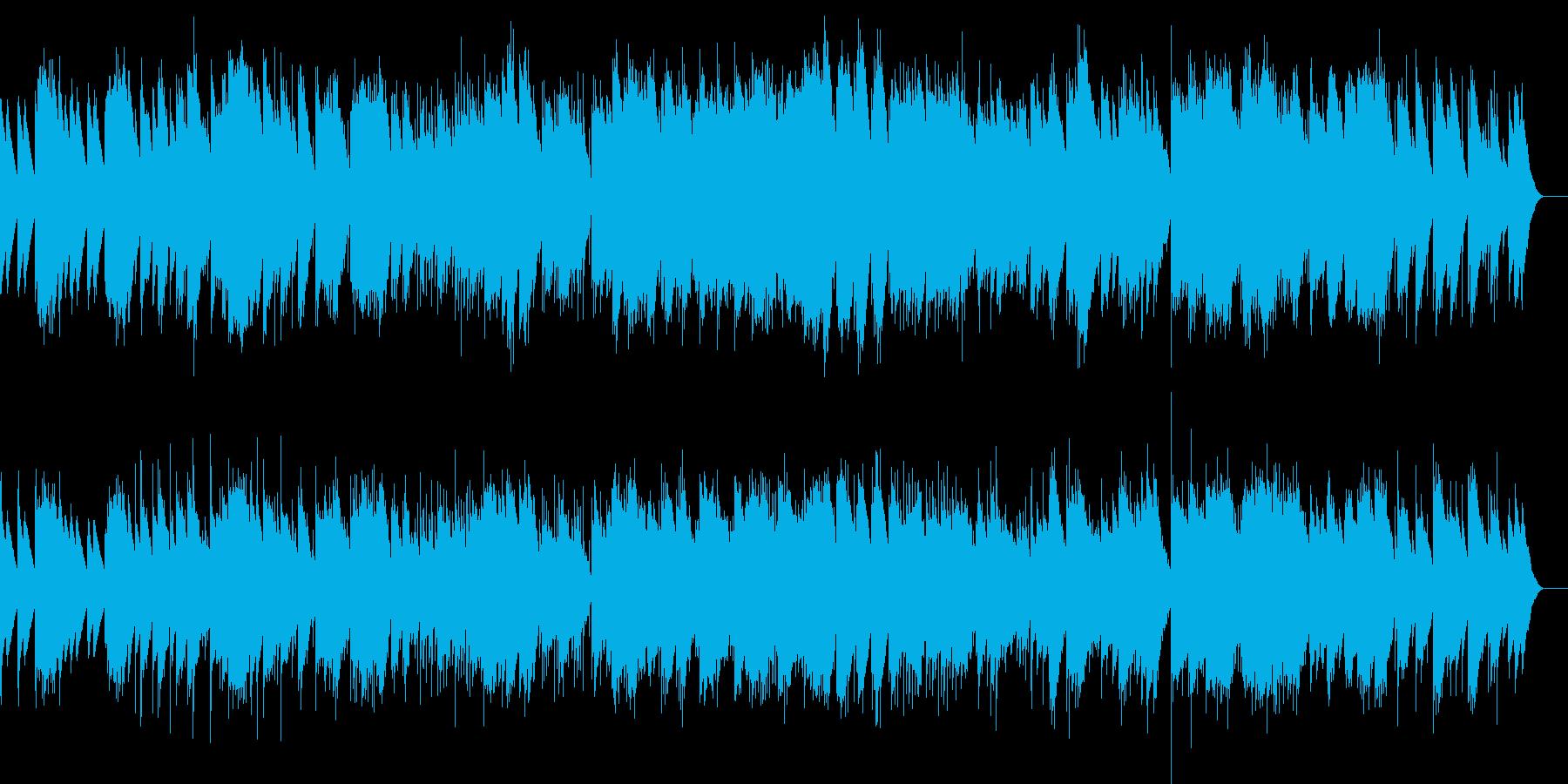 小組曲 3.メヌエット(オルゴール)の再生済みの波形