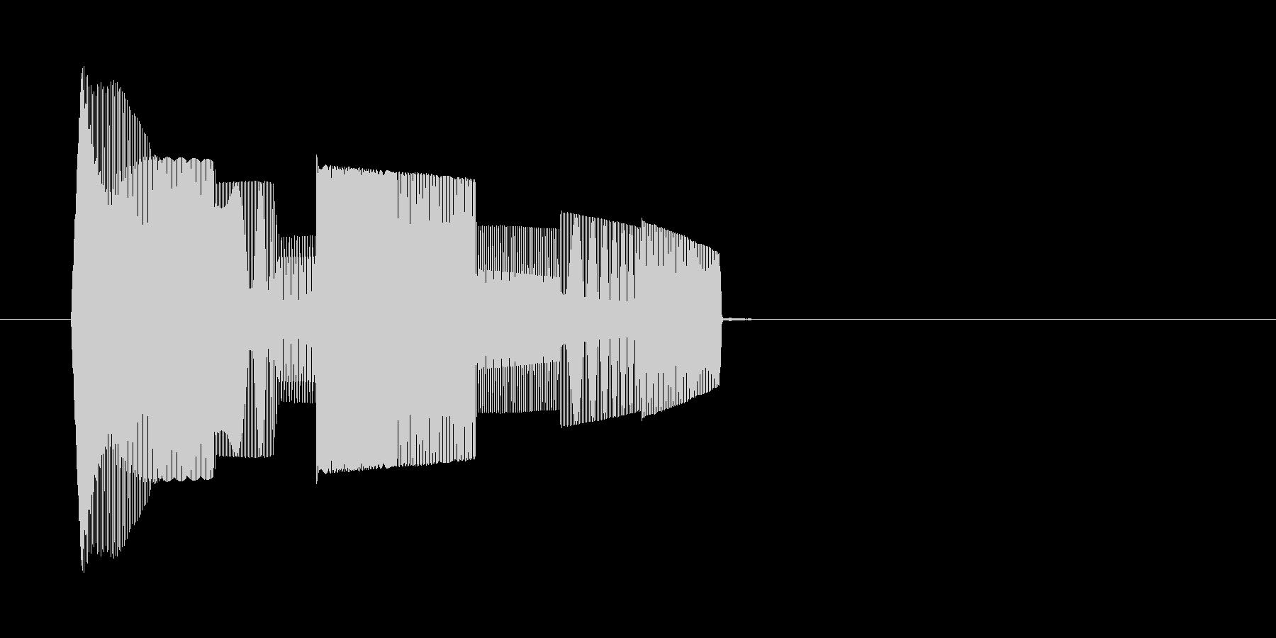 コンピューターのような効果音_その1の未再生の波形