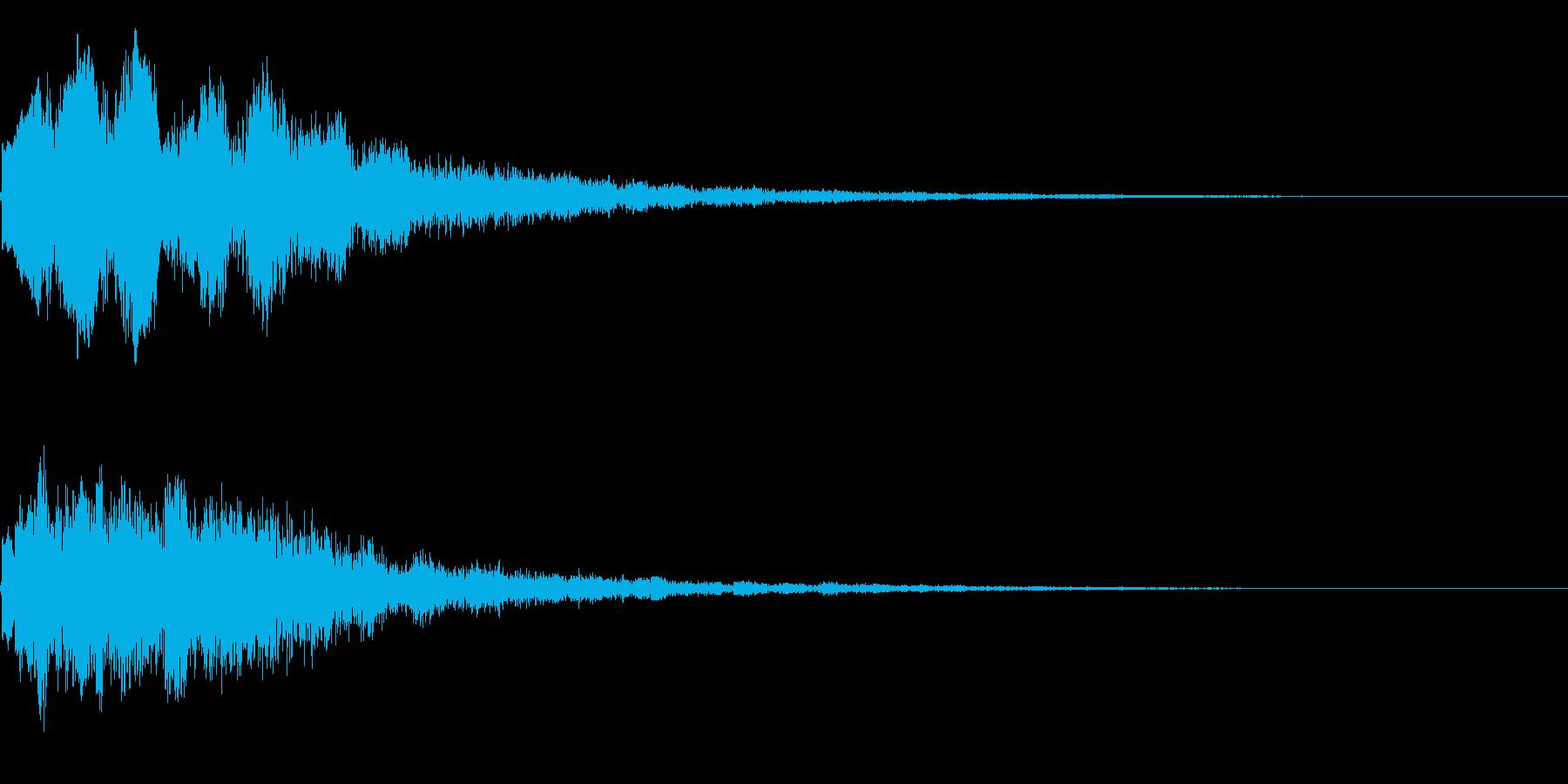 キラーン(星、光、魔法、テロップ等)3bの再生済みの波形