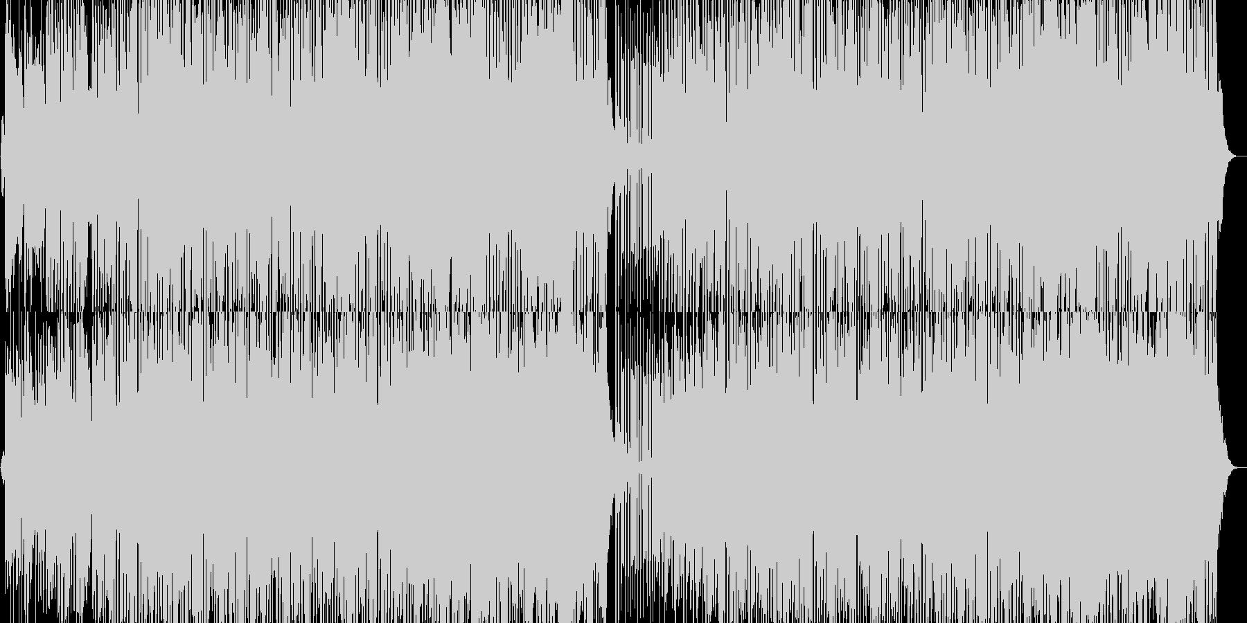 明るく陽気なモータウンの未再生の波形