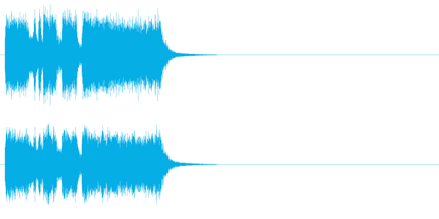 ファンファーレ 壮大 登場 表彰 発表の再生済みの波形