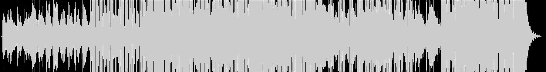 琴のメロディがエスニックな和風楽曲の未再生の波形