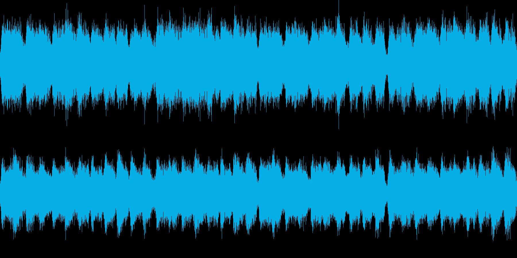 パイプオルガンの華やかなジングル_ループの再生済みの波形
