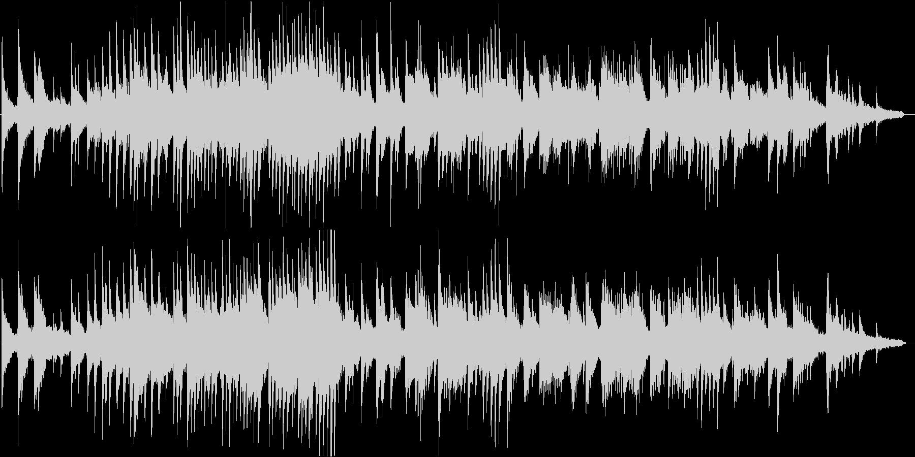 壮大でダークな雰囲気のピアノ・ソロの未再生の波形