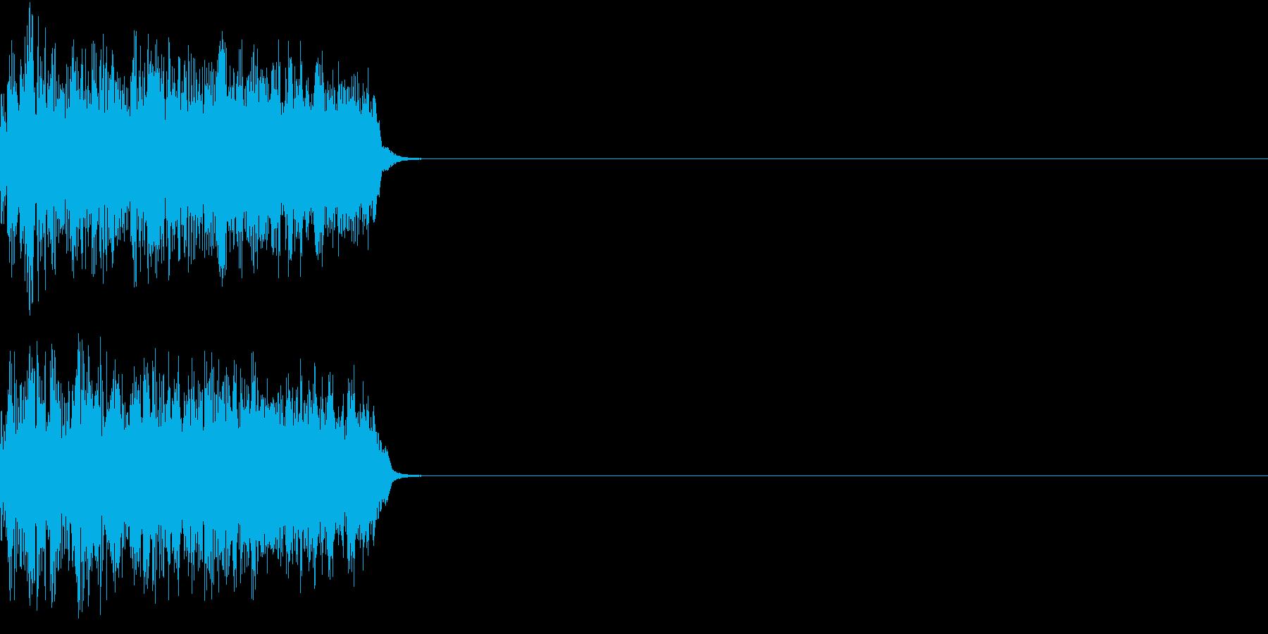 8ビット ファミコン アップ ゲージ2の再生済みの波形