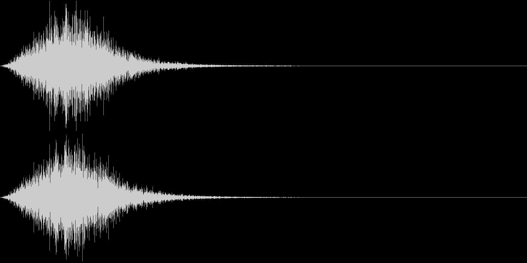Battle 戦闘エフェクト音 13の未再生の波形