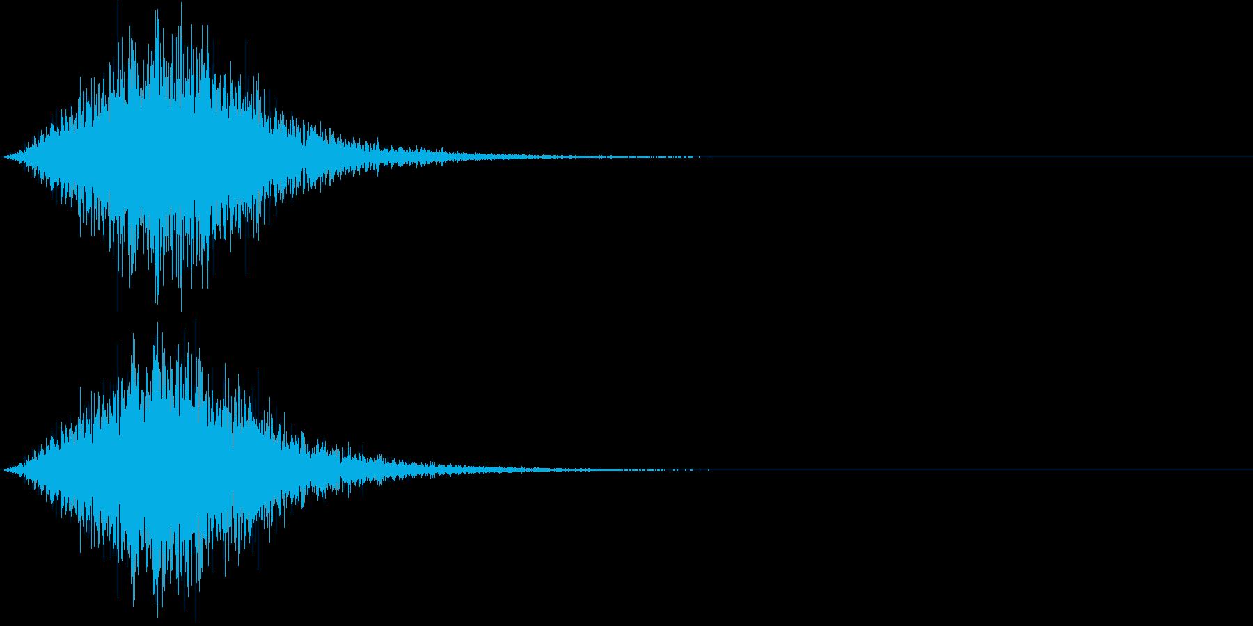 Battle 戦闘エフェクト音 13の再生済みの波形
