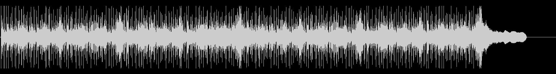 ショートBGM:シリアス・クールの未再生の波形