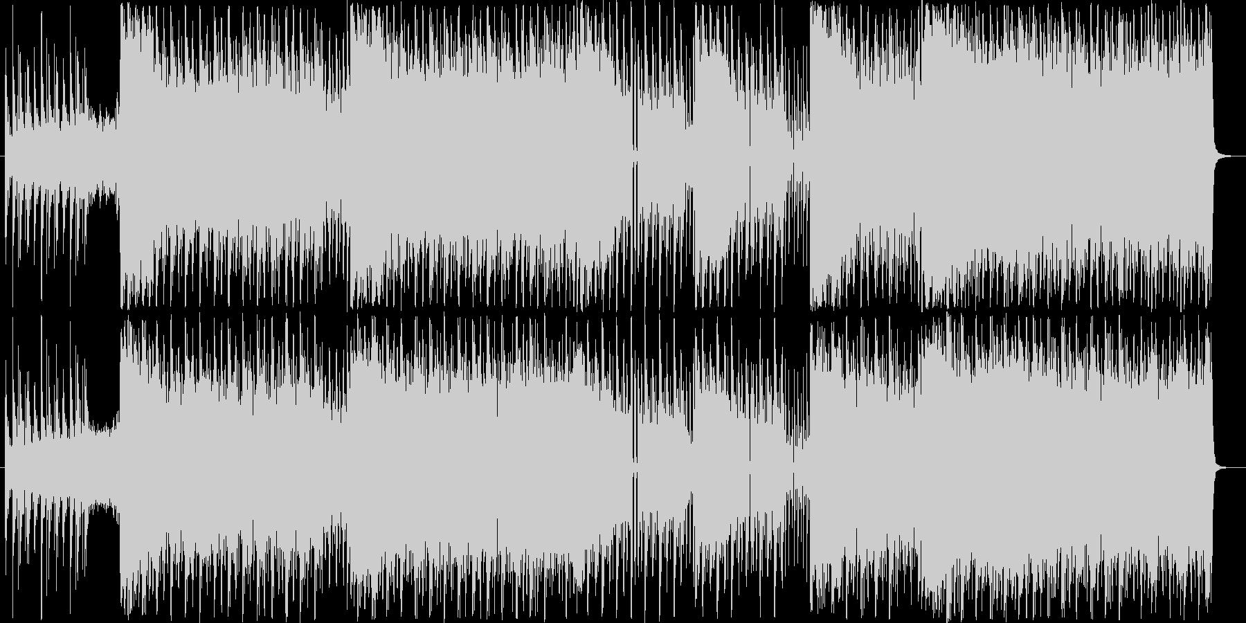 映像に合うかっこいいエレクトロハウスの未再生の波形