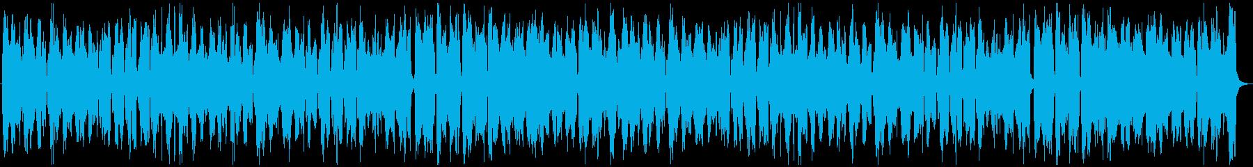 フランス音楽風、アコーディオン、ワルツの再生済みの波形