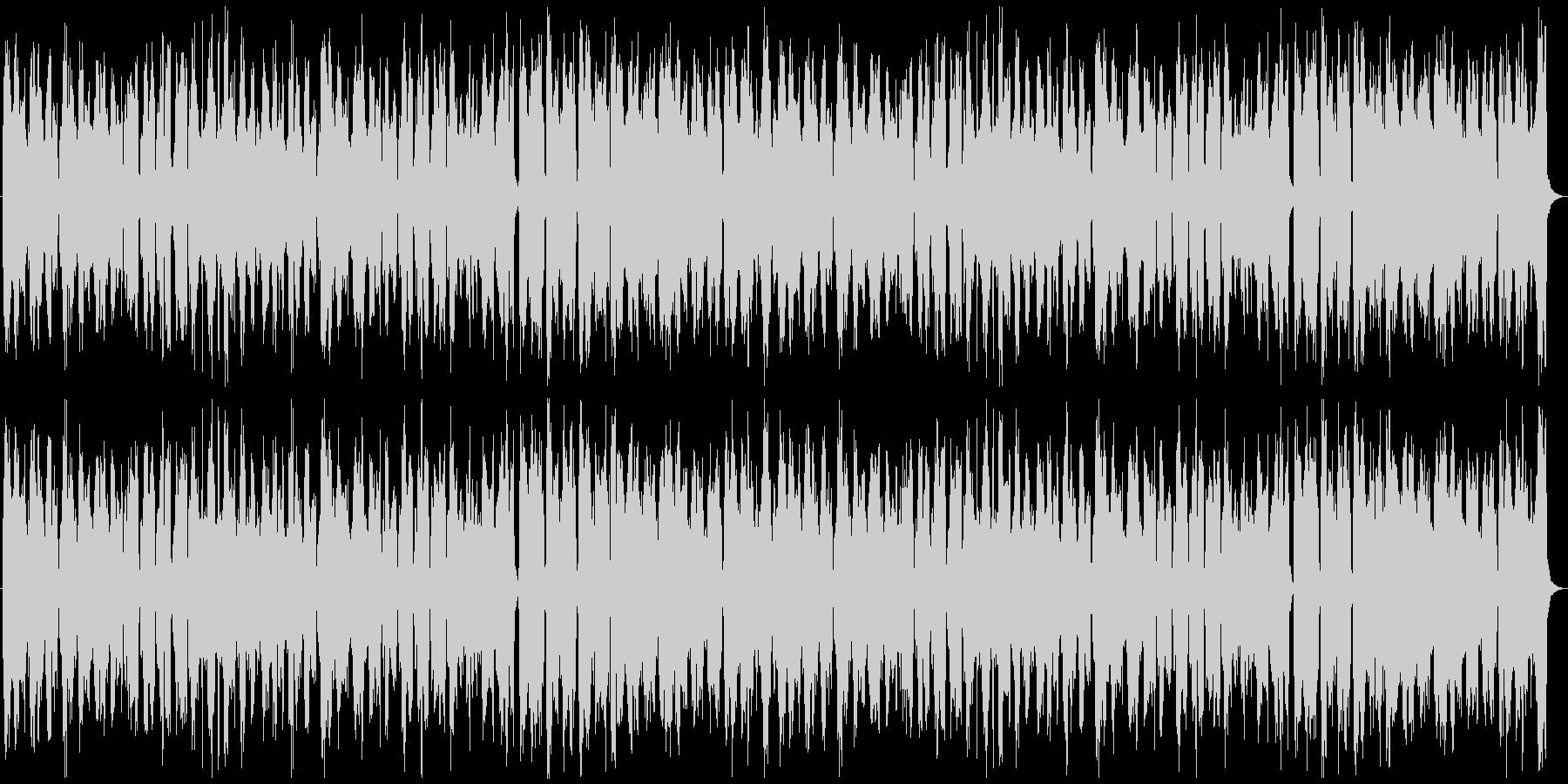 フランス音楽風、アコーディオン、ワルツの未再生の波形