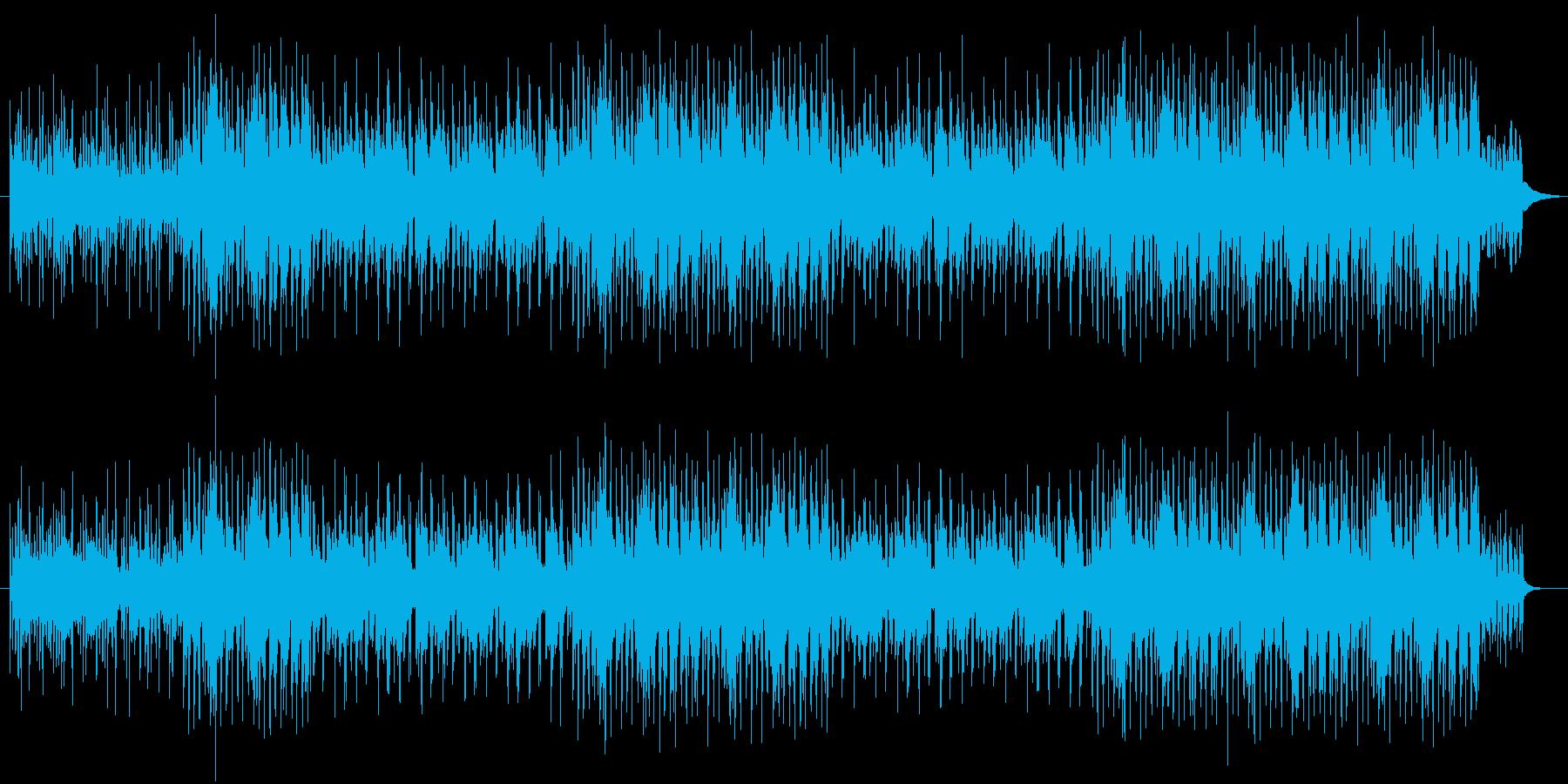 爽快なダンサンブルナンバーの再生済みの波形