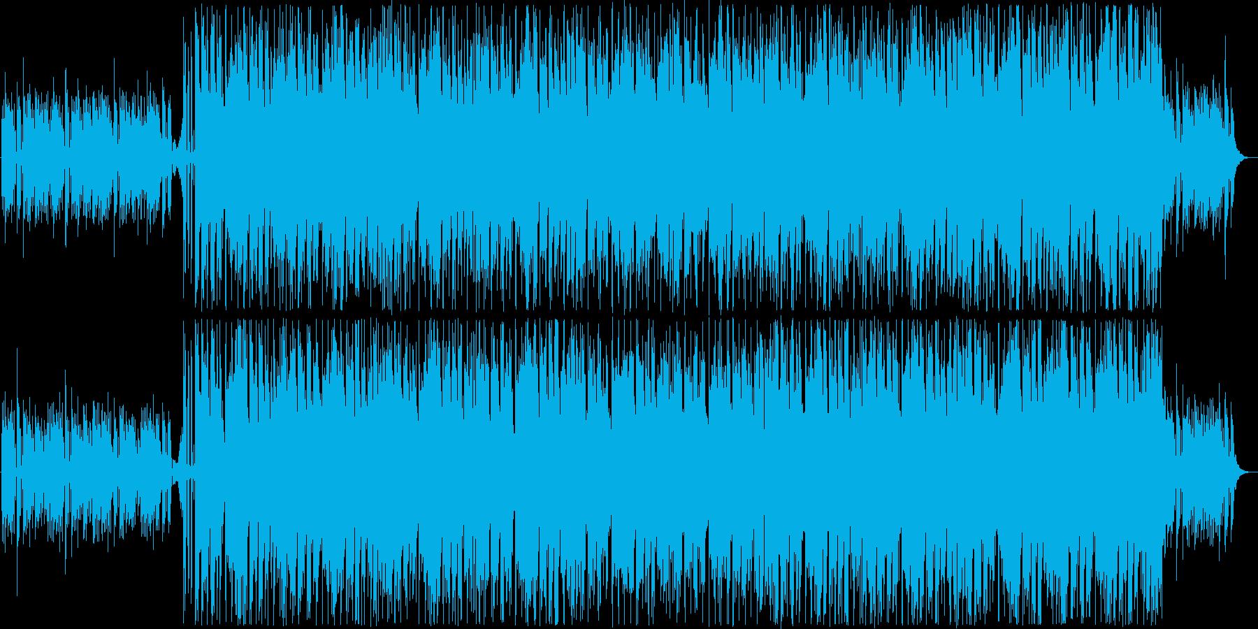 明るくかわいいシンセポップの再生済みの波形