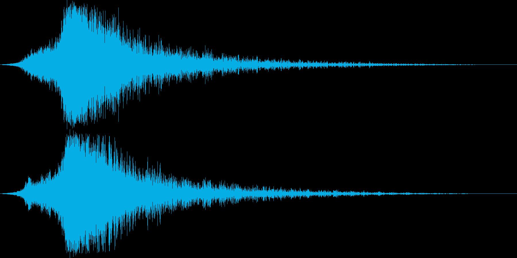 シャキーン♪クリア,達成,回復に最適7cの再生済みの波形
