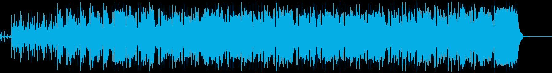ラテンポップの再生済みの波形