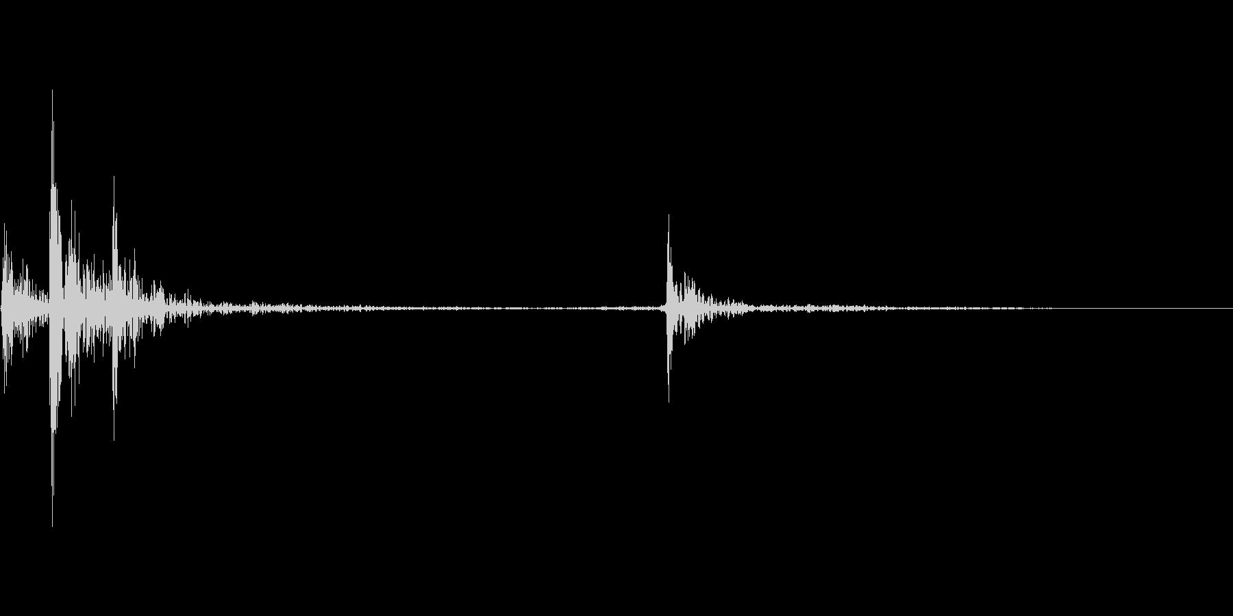 UI音(チャキッの未再生の波形
