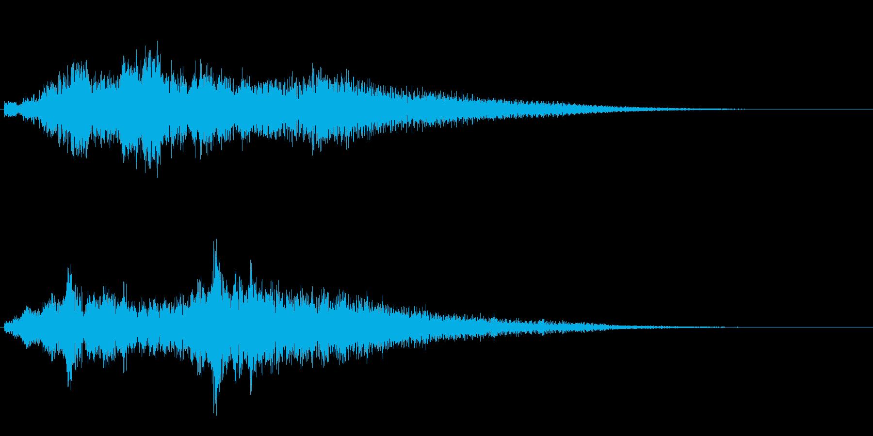 高音質♪サウンドロゴクリック音都会的の再生済みの波形