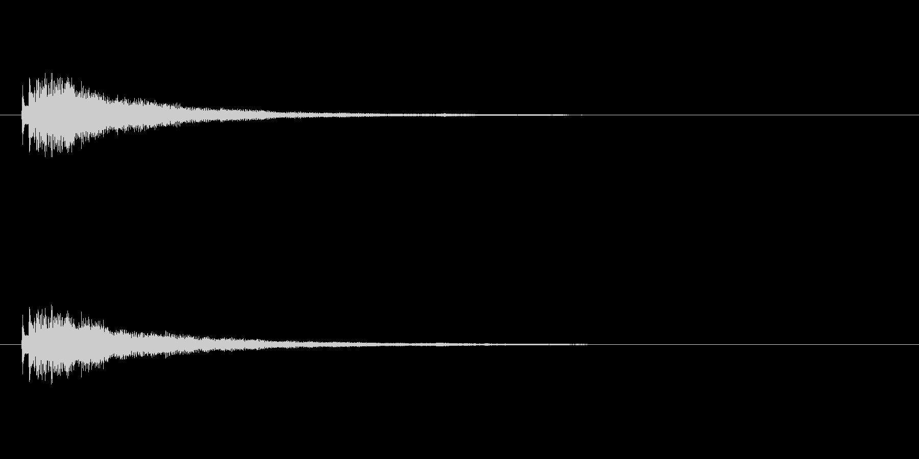 【ショートブリッジ15-1】の未再生の波形