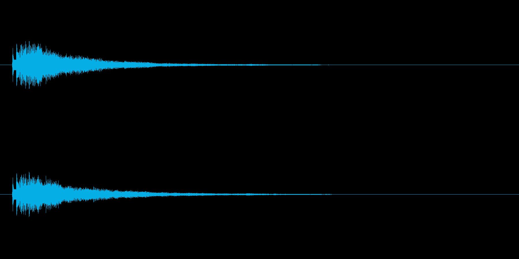【ショートブリッジ15-1】の再生済みの波形
