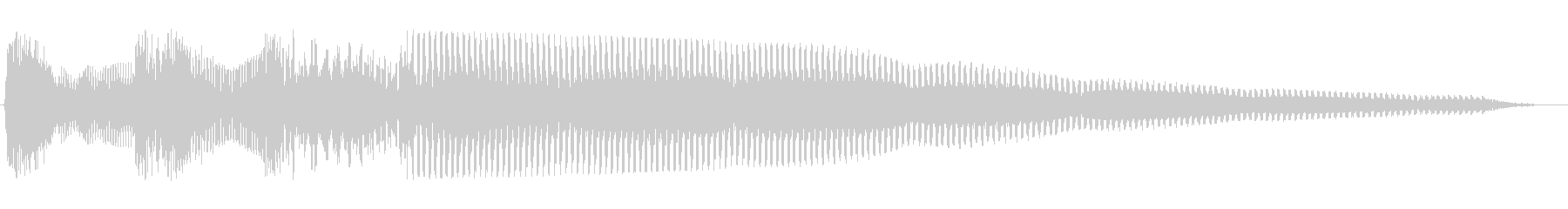 ピンポンパンポン(お知らせ)の未再生の波形