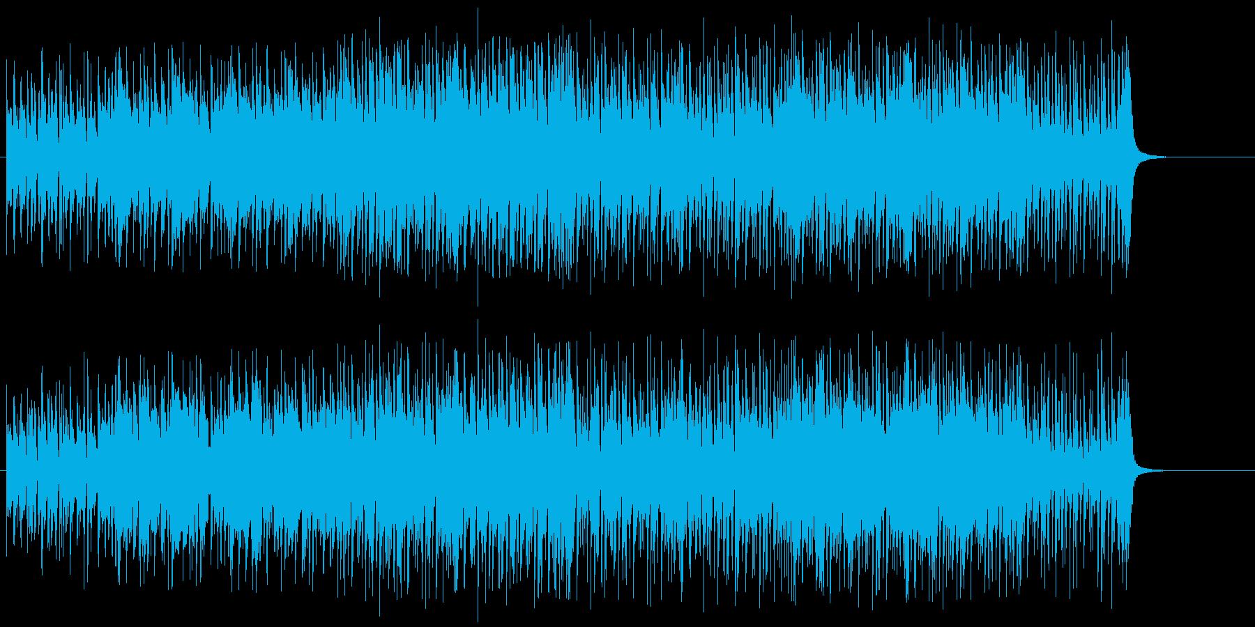 大人の色気が漂う情熱的なラテン/BGの再生済みの波形