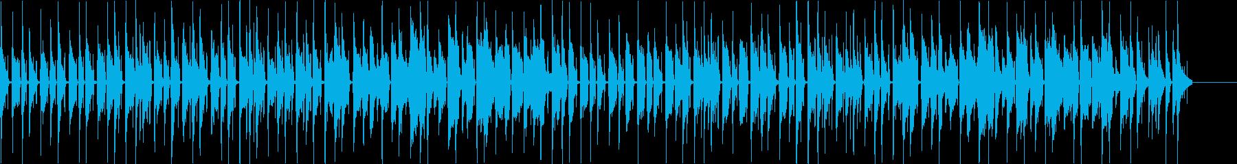 ウクレレとリコーダーののんびり日常BGMの再生済みの波形