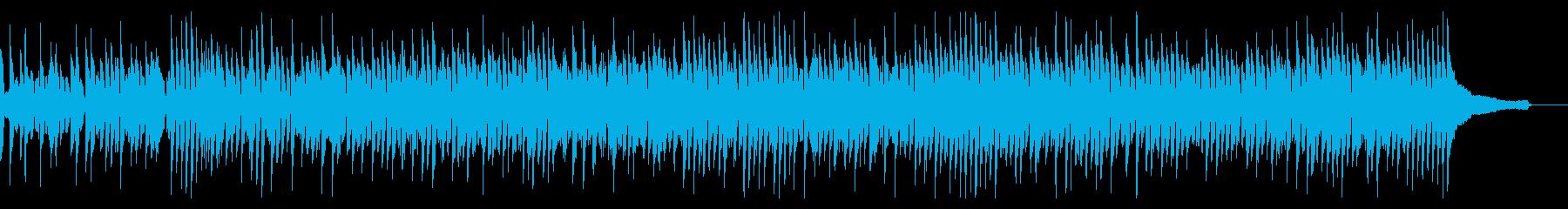 アップテンポのブルース系ピアノソロの再生済みの波形