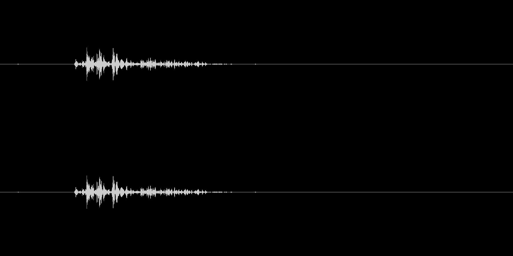 ぐちゃ(沼を歩く音・攻撃音などに)の未再生の波形