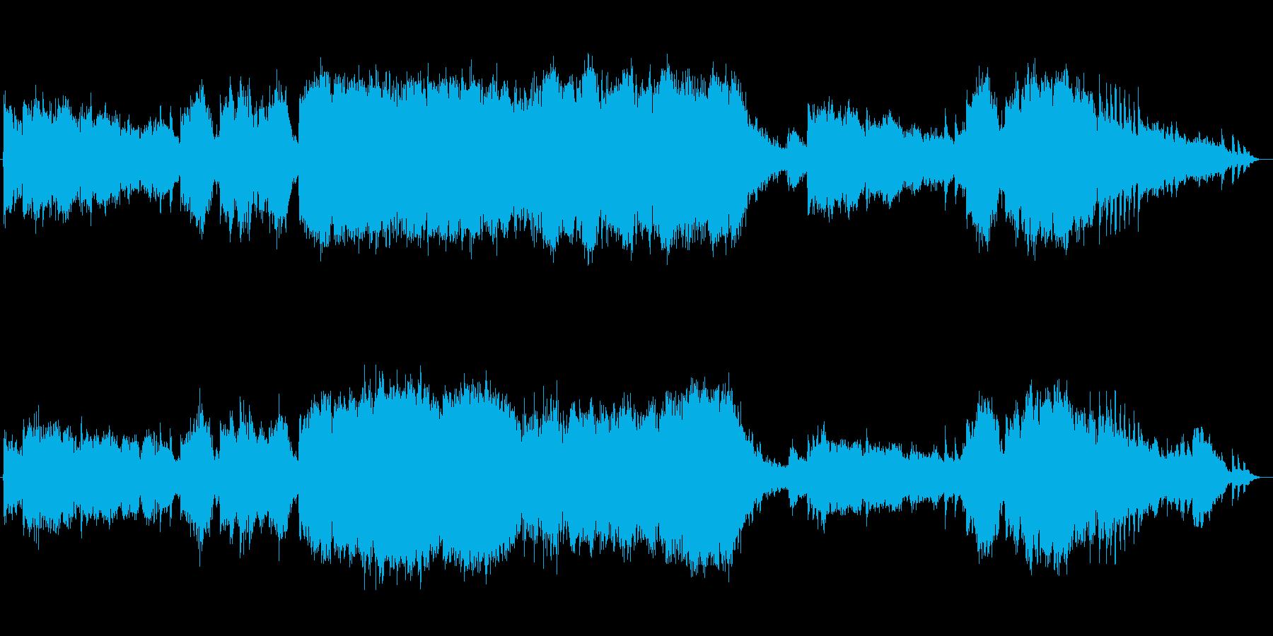 幻想的であり木琴が印象的なクラシックの再生済みの波形