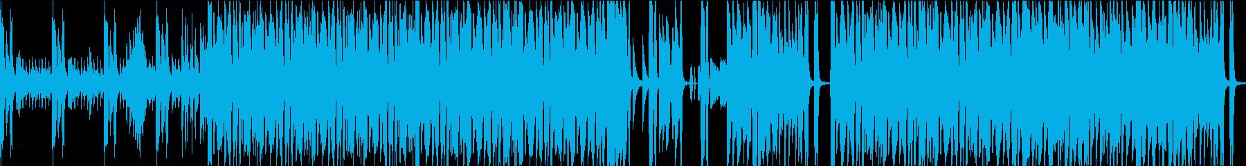 ブラスセクションメインのノリのいいジャズの再生済みの波形