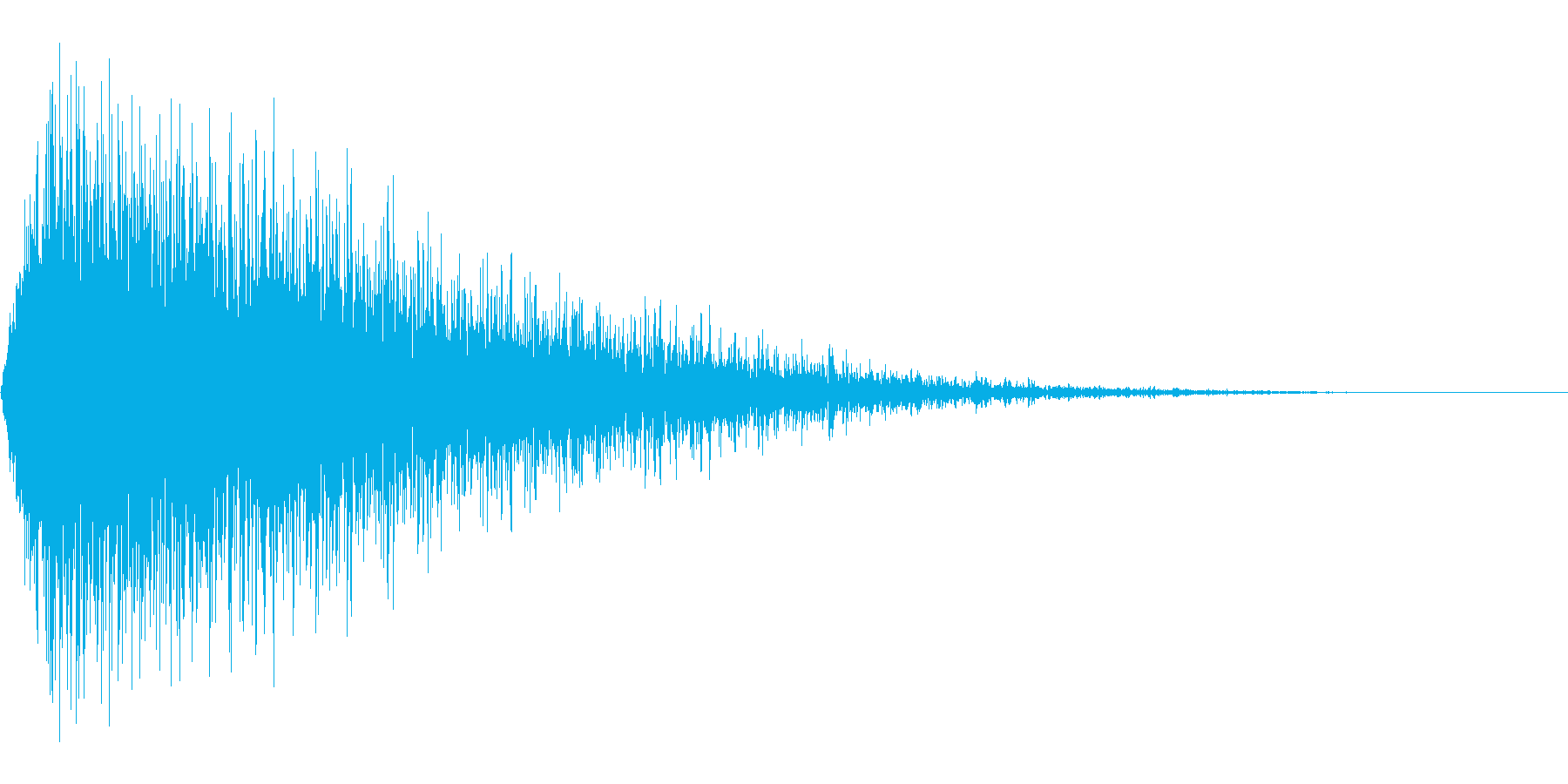 シュウウッ(文字などが出現する音などの再生済みの波形