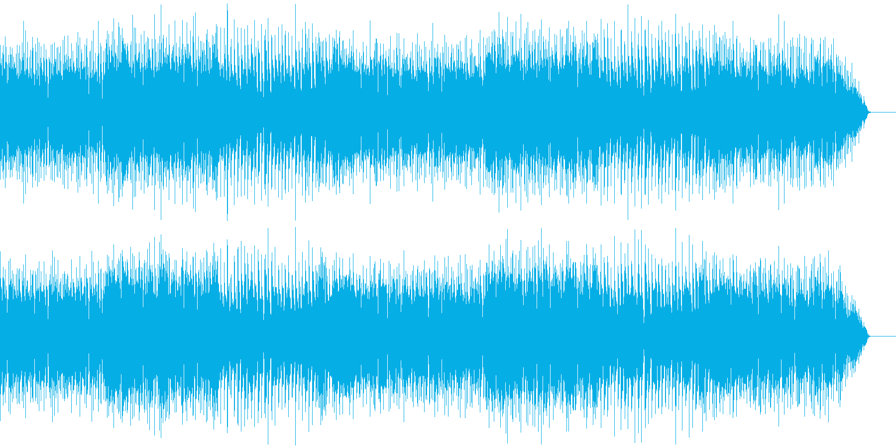 少し陰のあるアコースティックの再生済みの波形