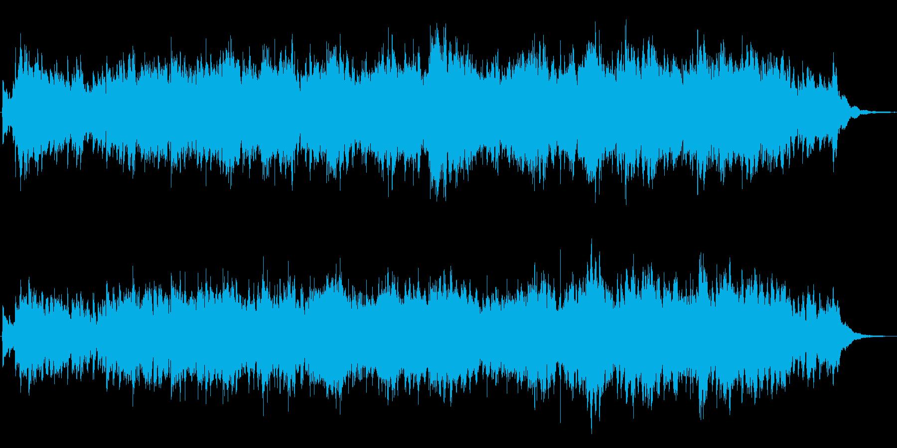 笛とピチカートによるほのぼのジングルの再生済みの波形