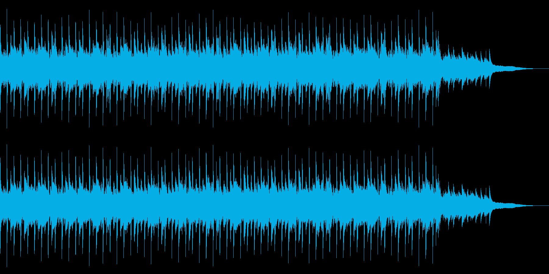 CM用BGM(ピアノアルペジオ+シンセ)の再生済みの波形